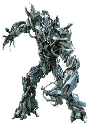 TRANSFORMERS - MEGATRON CUT OUT ART canvas print - self adhesive poster - photo print